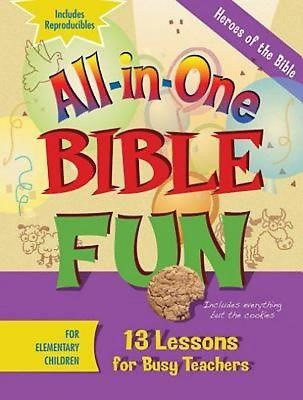 All-In-One Bible Fun For Elementary Children (Paperback)