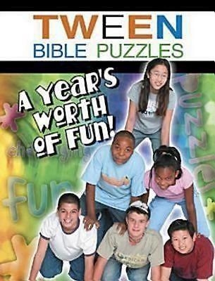 Tween Bible Puzzles (Paperback)