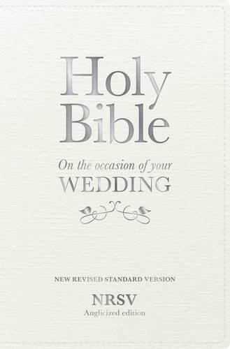 NRSV Anglicised Wedding Bible Gift Edition (Hard Cover)