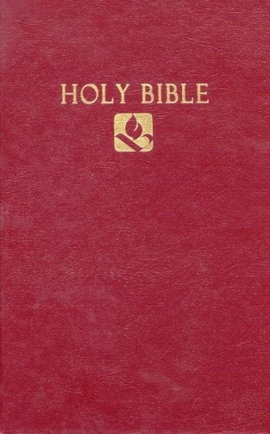 NRSV Pew Bible Burgundy (Hard Cover)