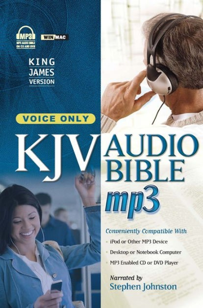 KJV Bible on MP3 [No Music] (CD-Audio)