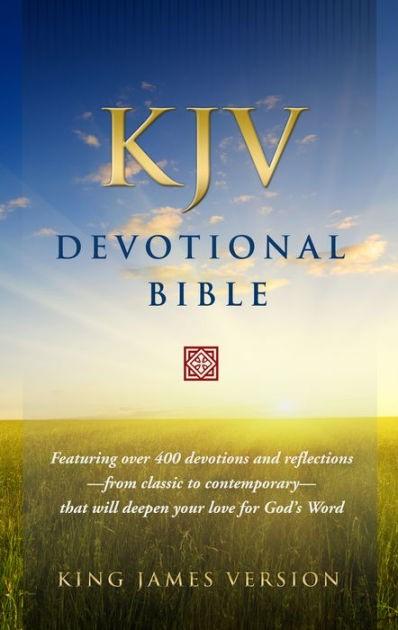 KJV Devotional Bible (Hard Cover)