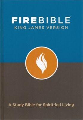 KJV Fire Bible (Hard Cover)