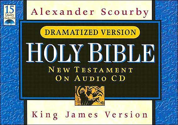 KJV N.T. On CD Dram Ny/Case/Bk