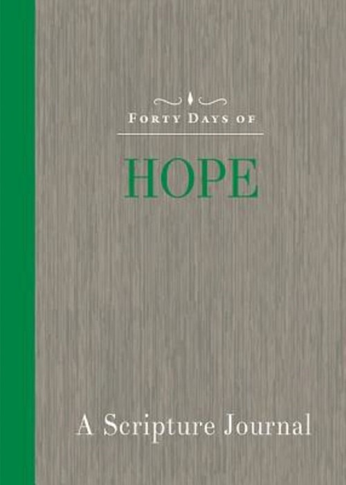 Forty Day of Hope Journal (Paperback)