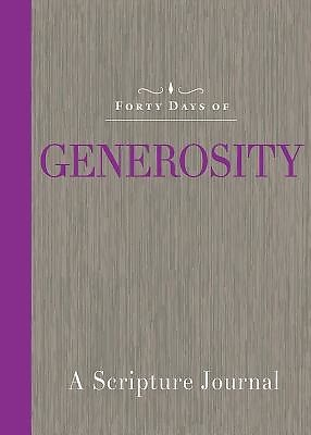Forty Days of Generosity Journal (Paperback)