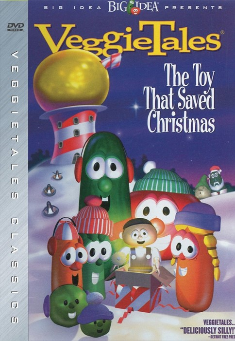 Veggie Tales: Toy That Saved Christmas DVD (DVD)