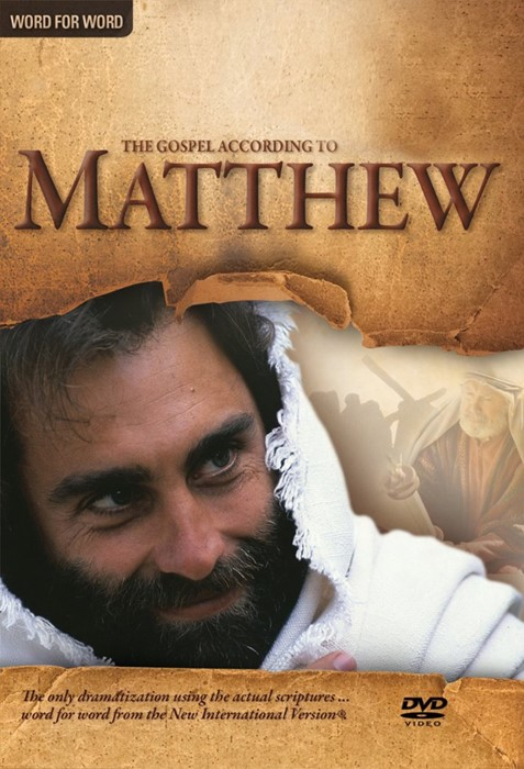 Matthew NIV DVD (DVD Audio)
