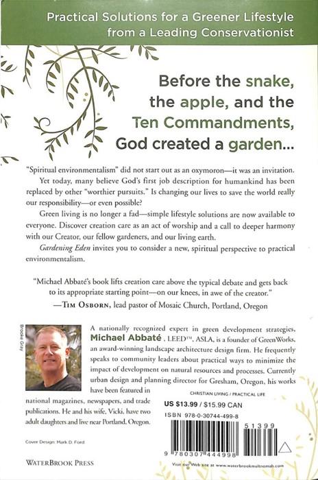 Gardening Eden (Paperback)