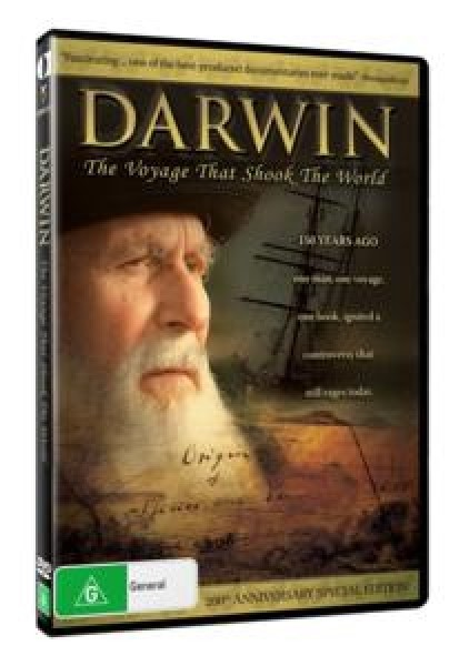 Darwin Voyage That Shock World (DVD)