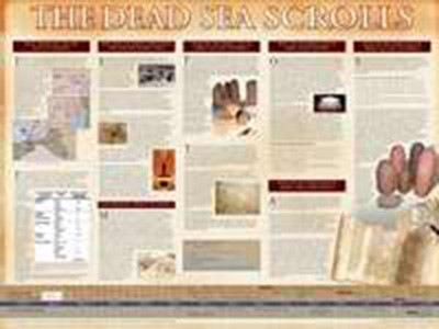 Dead Sea Scrolls (Laminated)   20x26 (Wall Chart)