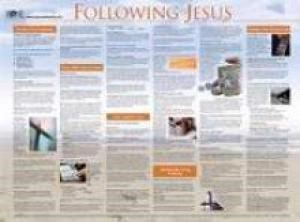 Following Jesus (Laminated)   20x26 (Wall Chart)