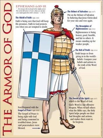 Armour Of God (Laminated) 20x26 (Wall Chart)