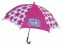 Child Umbrella God's Girl