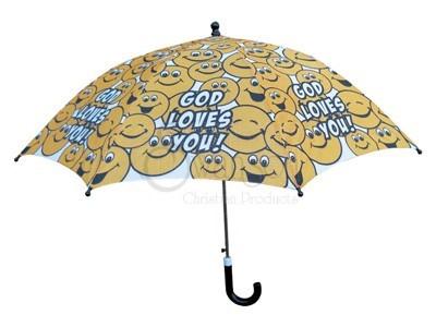 Child Umbrella God Loves You
