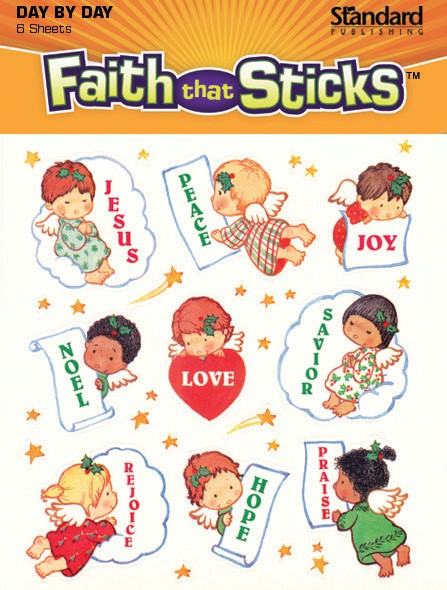 Peace and Joy Christmas Stickers (Stickers)