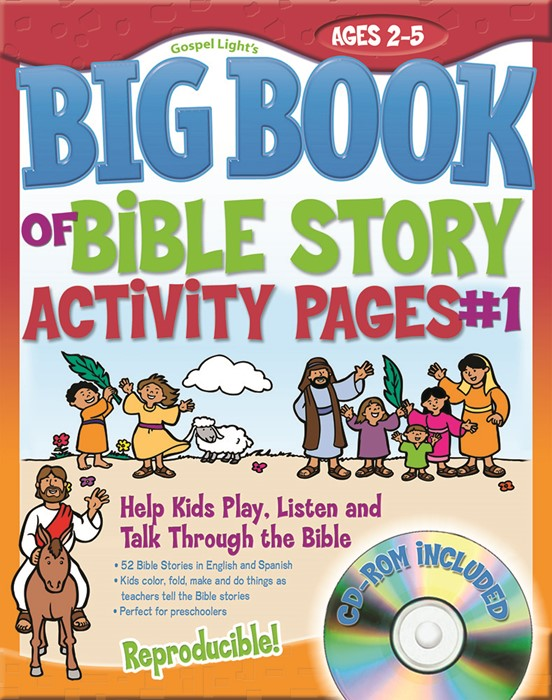 Big Book of Bible Story Activity Pages (Paperback/CD Rom)