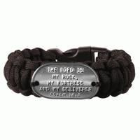 Bracelet Dogtag Black