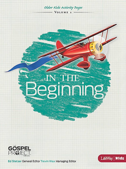 In the Beginning: Older Kids Activity Pages (Paperback)