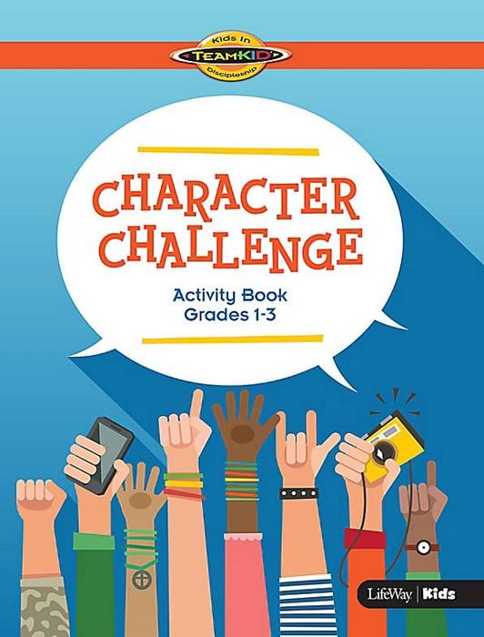 TeamKid Character Challenge Activity Book Grades 1-3 (Paperback)