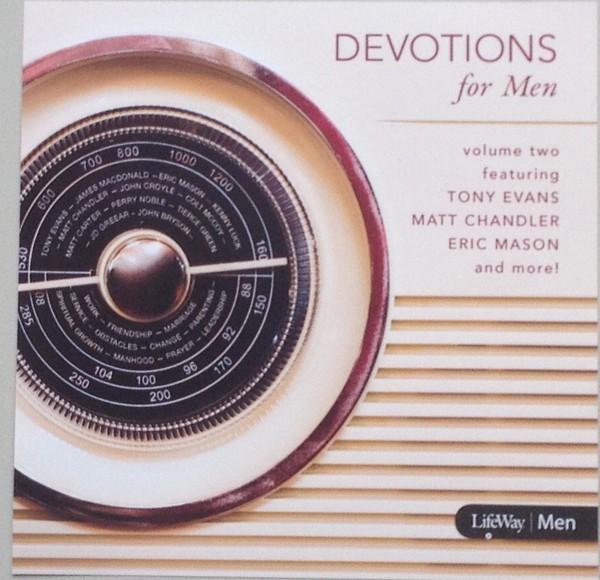 Devotions For Men Vol. 2 CD (CD-Audio)