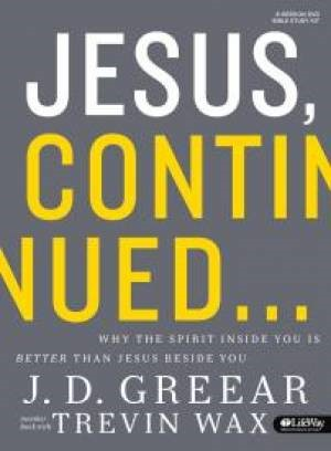Jesus, Continued - Bible Study Kit (Hard Cover w/ DVD)