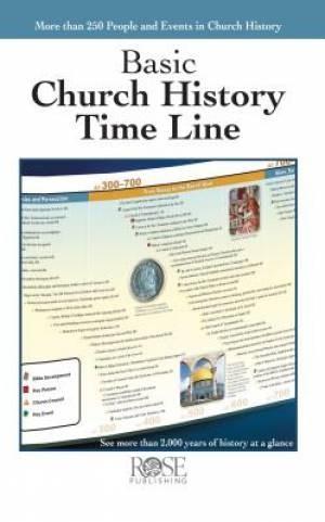 Church History Time Line Pamphlet (Pamphlet)