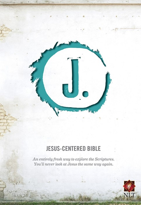 NLT Jesus-Centered Bible Turquoise (Imitation Leather)