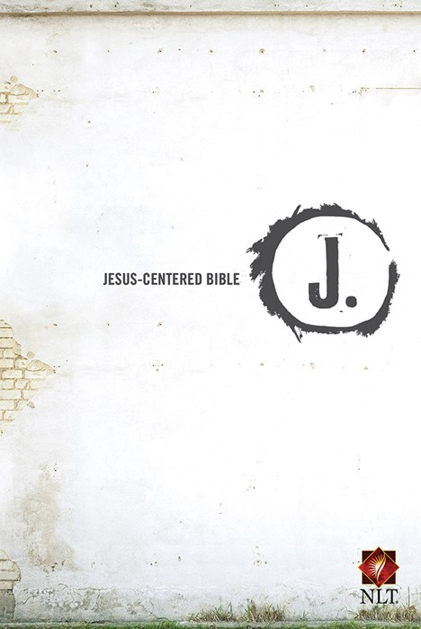 NLT Jesus-Centered Bible HB (Hard Cover)