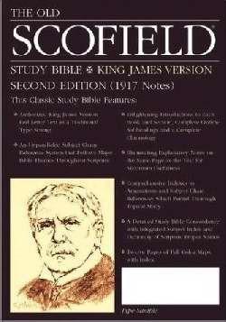 KJV Old Scofield Study Bible Cowhide Black (Leather Binding)