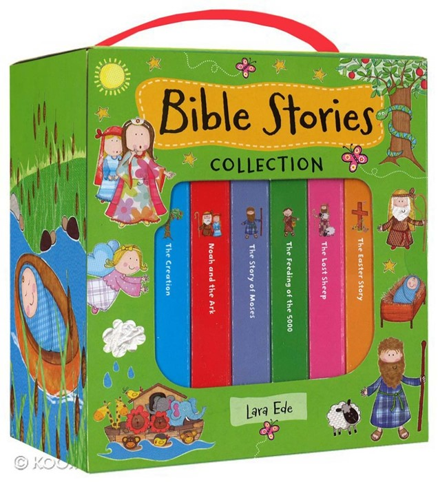 Book Cube Bible Stories Collection (6 Books) (Paperback)