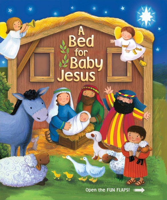 Bed For Baby Jesus, A (Board Book)