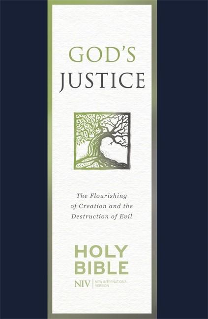 NIV God's Justice Bible (Paperback)