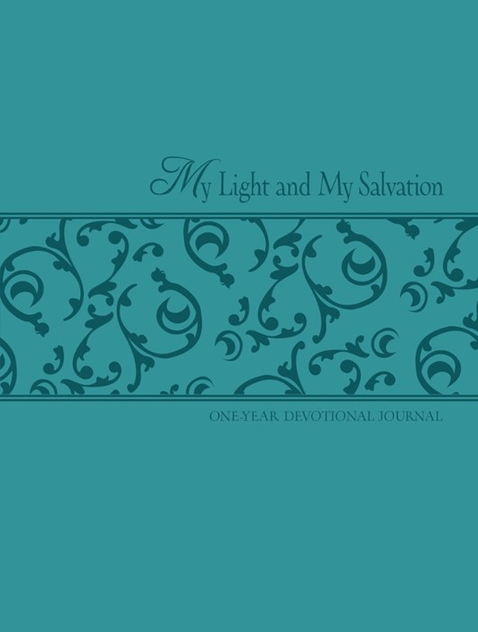 My Light and My Salvation : One Year Devotional Journal (Imitation Leather)
