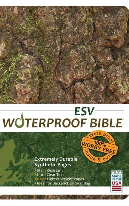 ESV Waterproof Bible Camo