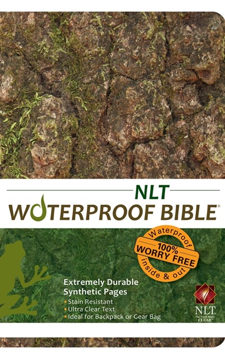 NLT Waterproof Bible Camo
