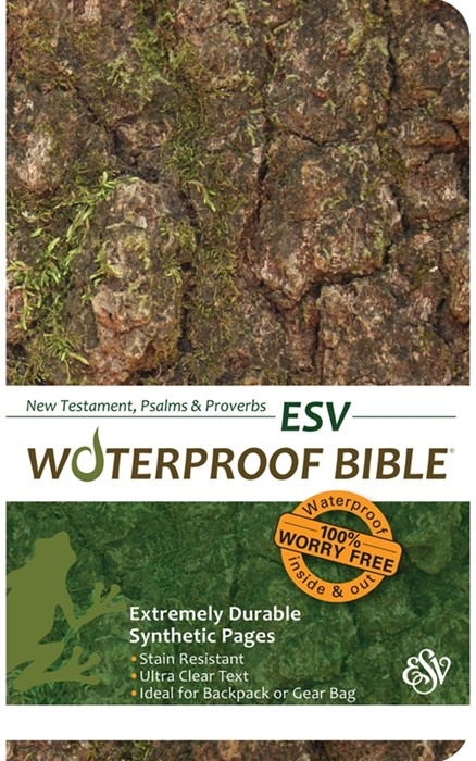 ESV Waterproof New Testament, Psalms & Proverbs Camo