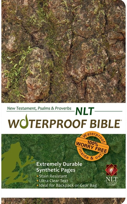 NLT Waterproof New Testament, Psalms & Proverbs Camo