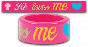 Fun Ring He Loves Me Size 9