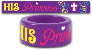 Fun Ring His Princess Size 8