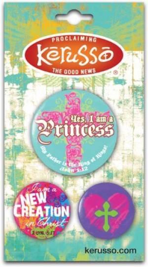 Button Pack Princess