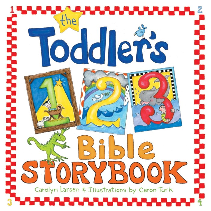 The Toddler's 1-2-3 Bible Storybook (Hard Cover)