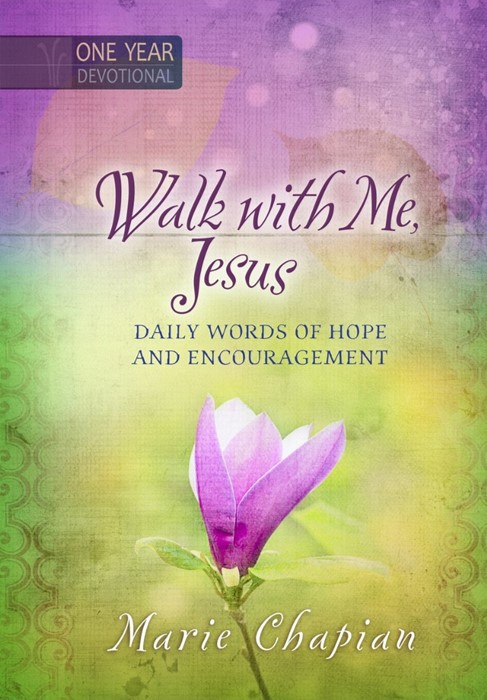 Walk With Me Jesus One Year Devotional (Hard Cover)