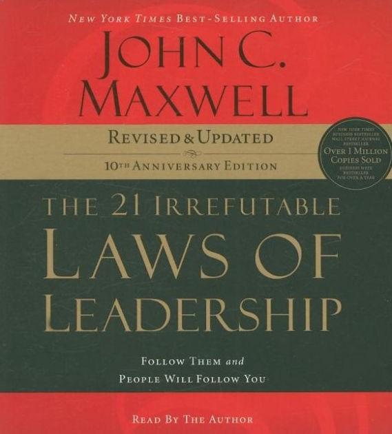 21 Irrefutable Laws of Leaderhsip CD (CD-Audio)