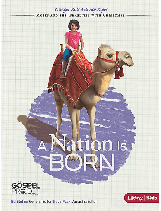 Nation is Born, A: Younger Kids Activity Pages (Paper Back)