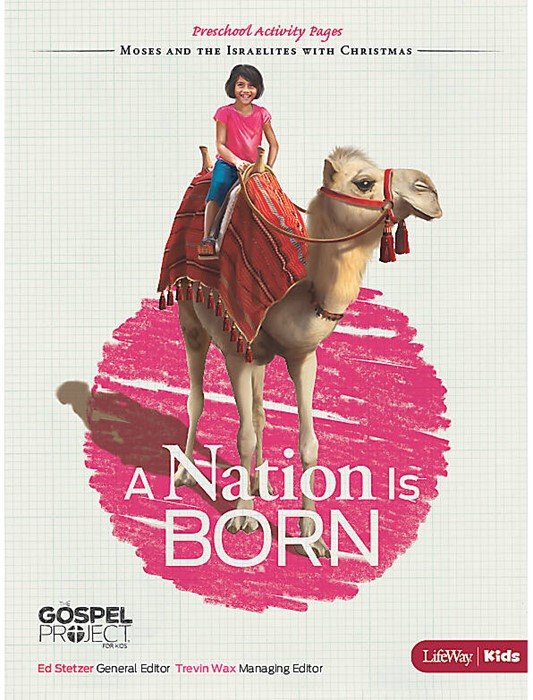 Nation is Born, A: Preschool Activity Pages (Paper Back)