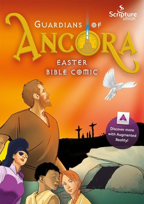 Guardians of Ancora Easter Bible Comic (Paperback)