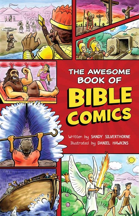 The Awesome Book Of Bible Comics (Paperback)