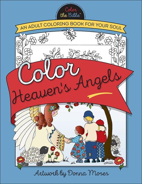 Color Heaven's Angels (Paperback)