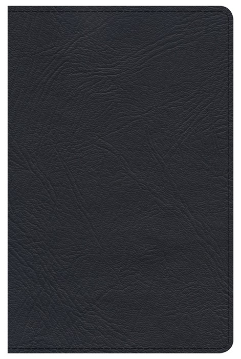 KJV Minister's Pocket Bible, Black Genuine Leather (Leather Binding)